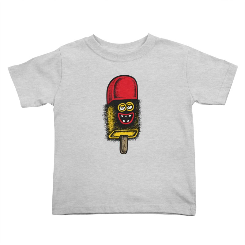 Hairy Ice Lolly Kids Toddler T-Shirt by cphposter's Artist Shop