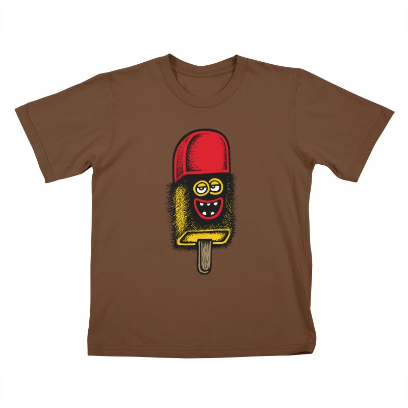 Hairy Ice Lolly Kids T-Shirt by cphposter's Artist Shop