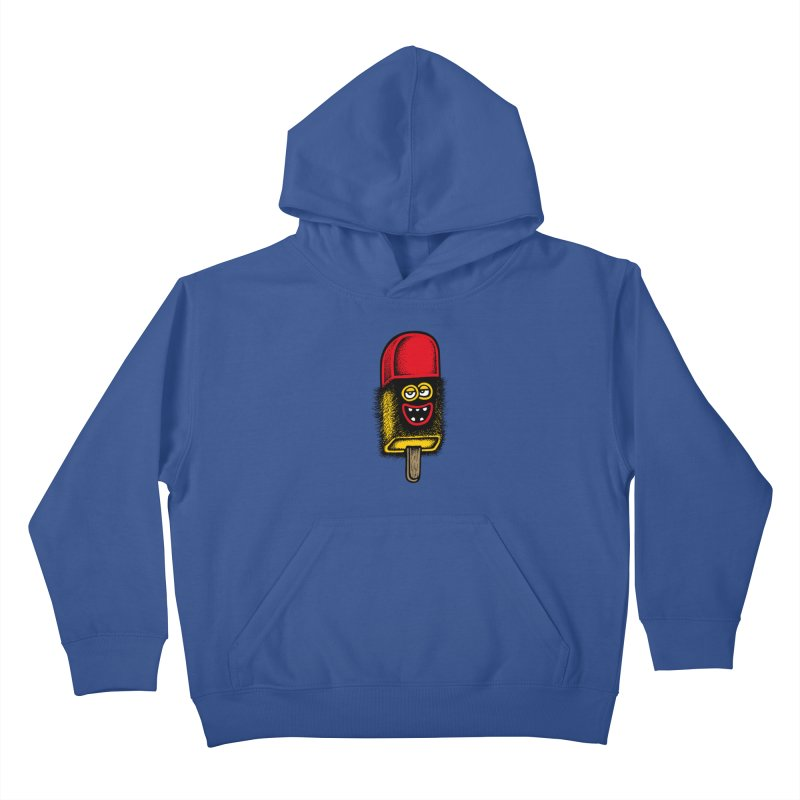 Hairy Ice Lolly Kids Pullover Hoody by cphposter's Artist Shop