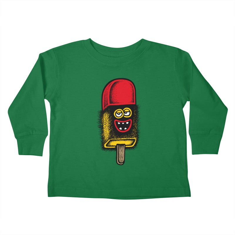 Hairy Ice Lolly Kids Toddler Longsleeve T-Shirt by cphposter's Artist Shop