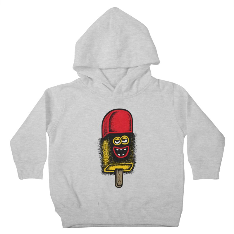 Hairy Ice Lolly Kids Toddler Pullover Hoody by cphposter's Artist Shop