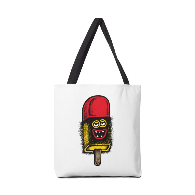 Hairy Ice Lolly Accessories Bag by cphposter's Artist Shop