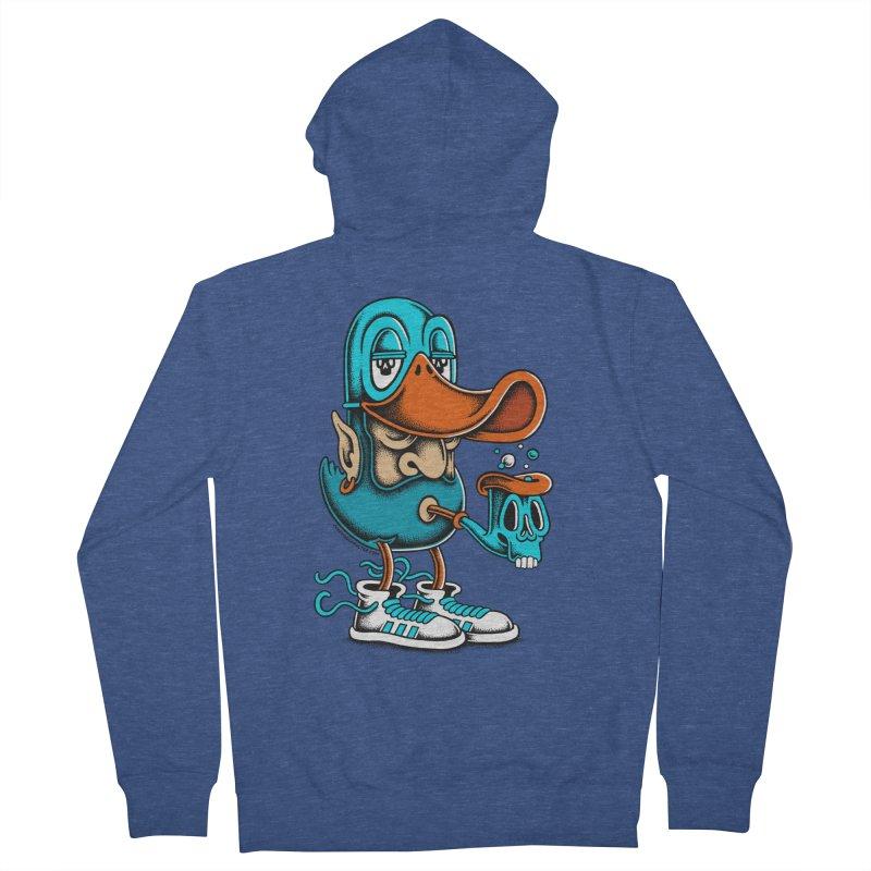 Duckface Men's Zip-Up Hoody by cphposter's Artist Shop