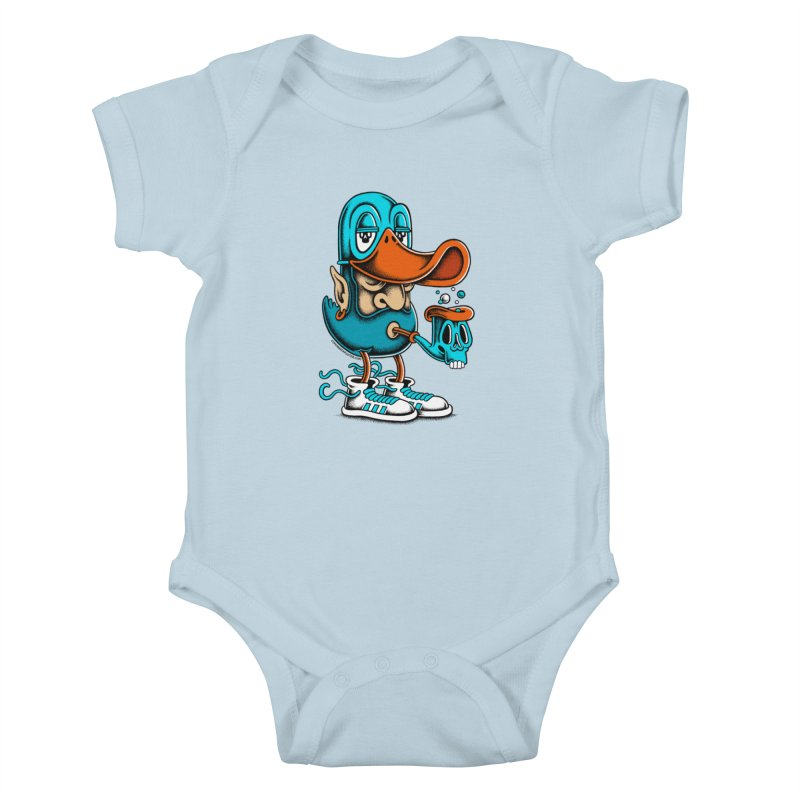 Duckface Kids Baby Bodysuit by cphposter's Artist Shop