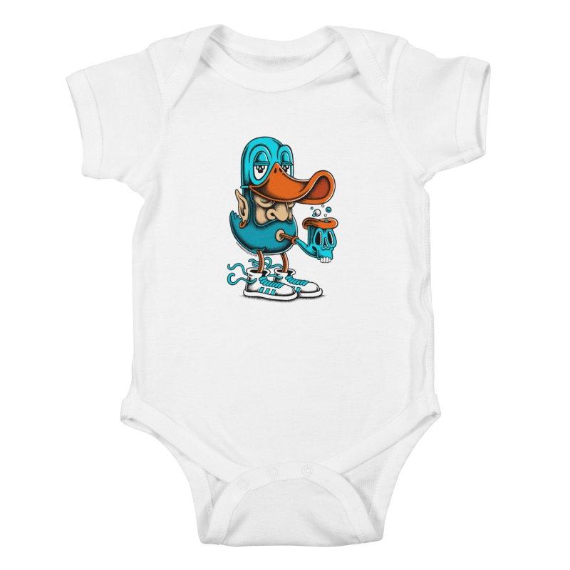 Duckface Kids Baby Bodysuit by cphposter's Artist Shop