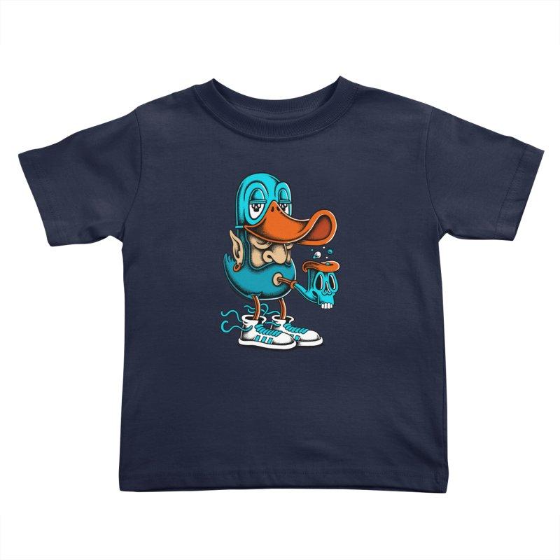 Duckface Kids Toddler T-Shirt by cphposter's Artist Shop