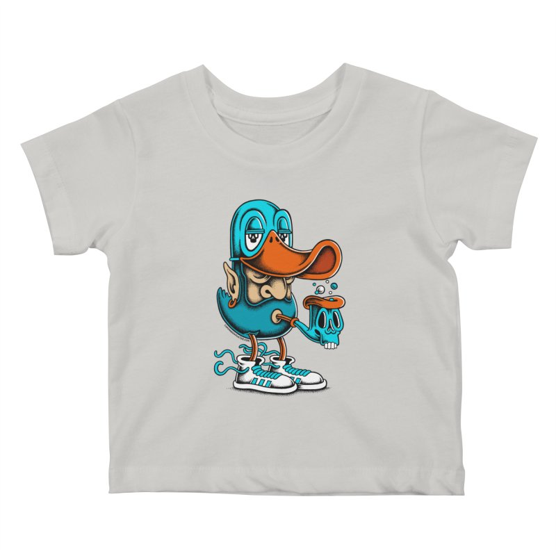Duckface Kids Baby T-Shirt by cphposter's Artist Shop