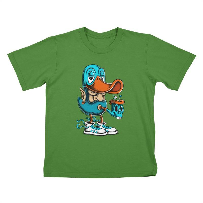 Duckface Kids T-Shirt by cphposter's Artist Shop