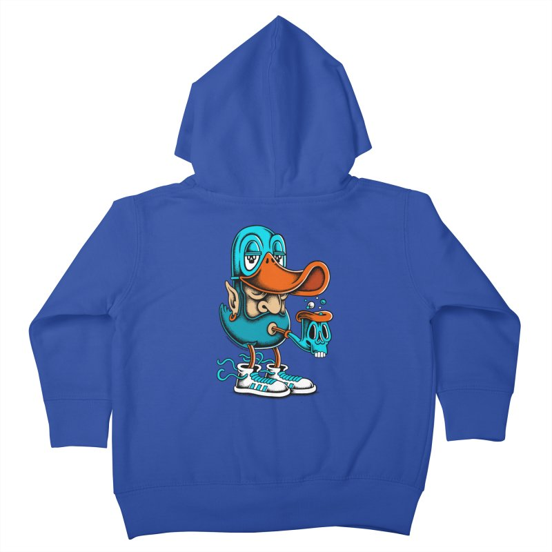 Duckface Kids Toddler Zip-Up Hoody by cphposter's Artist Shop