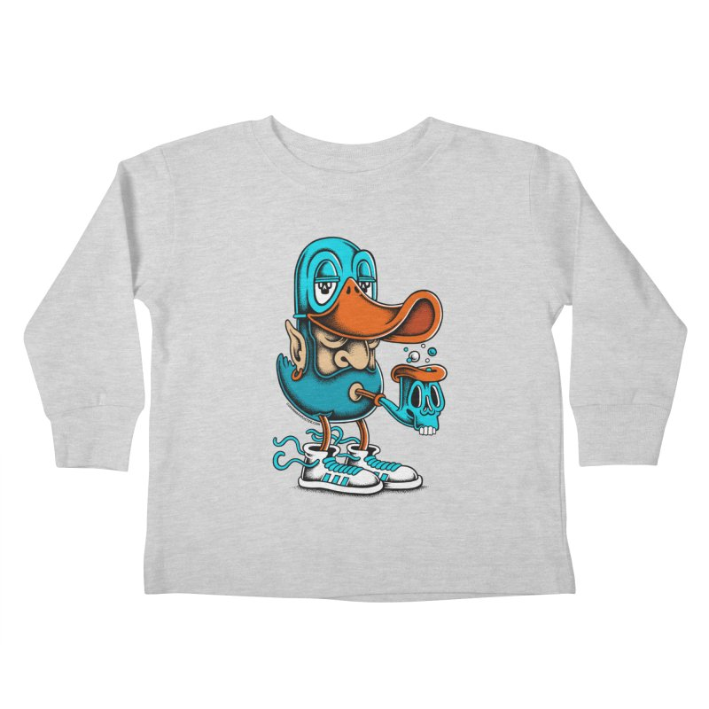 Duckface Kids Toddler Longsleeve T-Shirt by cphposter's Artist Shop