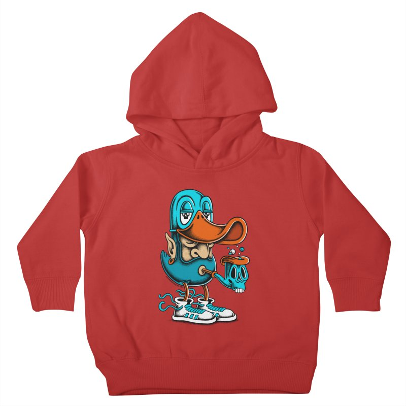 Duckface Kids Toddler Pullover Hoody by cphposter's Artist Shop
