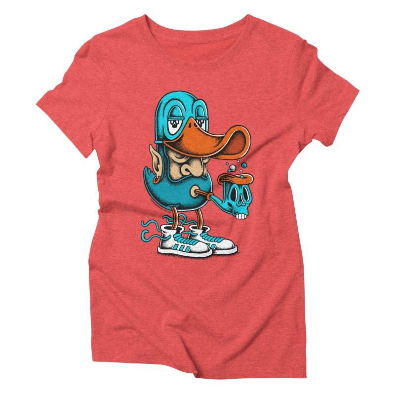 Duckface Women's Triblend T-Shirt by cphposter's Artist Shop