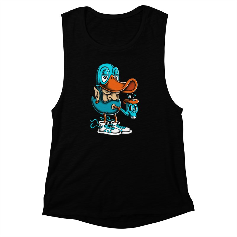Duckface Women's Muscle Tank by cphposter's Artist Shop