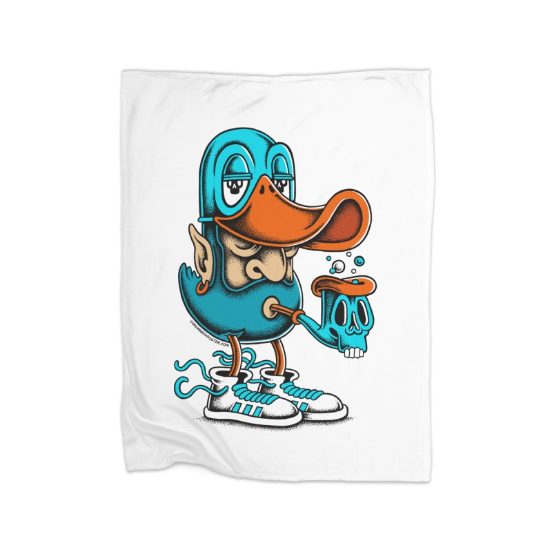 Duckface Home Blanket by cphposter's Artist Shop