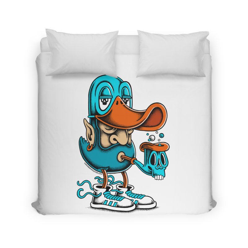 Duckface Home Duvet by cphposter's Artist Shop