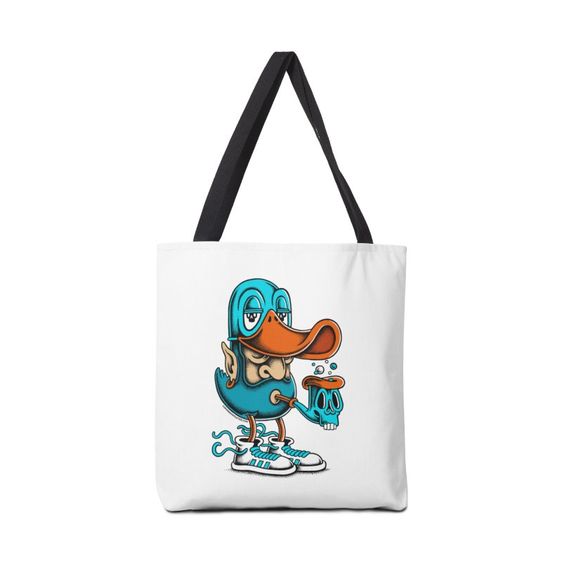 Duckface Accessories Bag by cphposter's Artist Shop