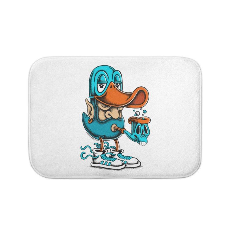 Duckface Home Bath Mat by cphposter's Artist Shop