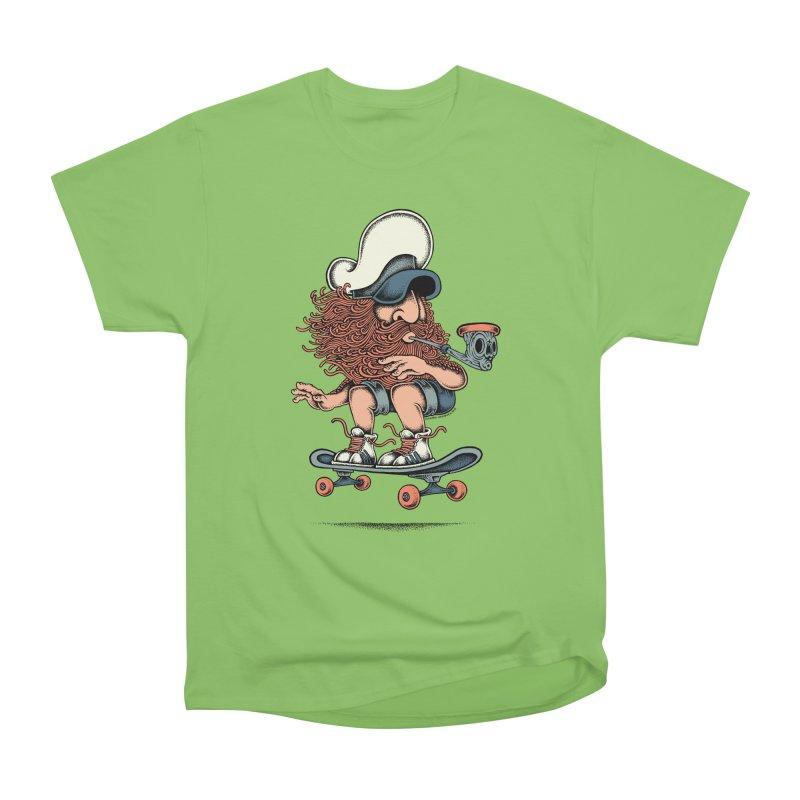 Skateboard Sailor Men's Heavyweight T-Shirt by cphposter's Artist Shop