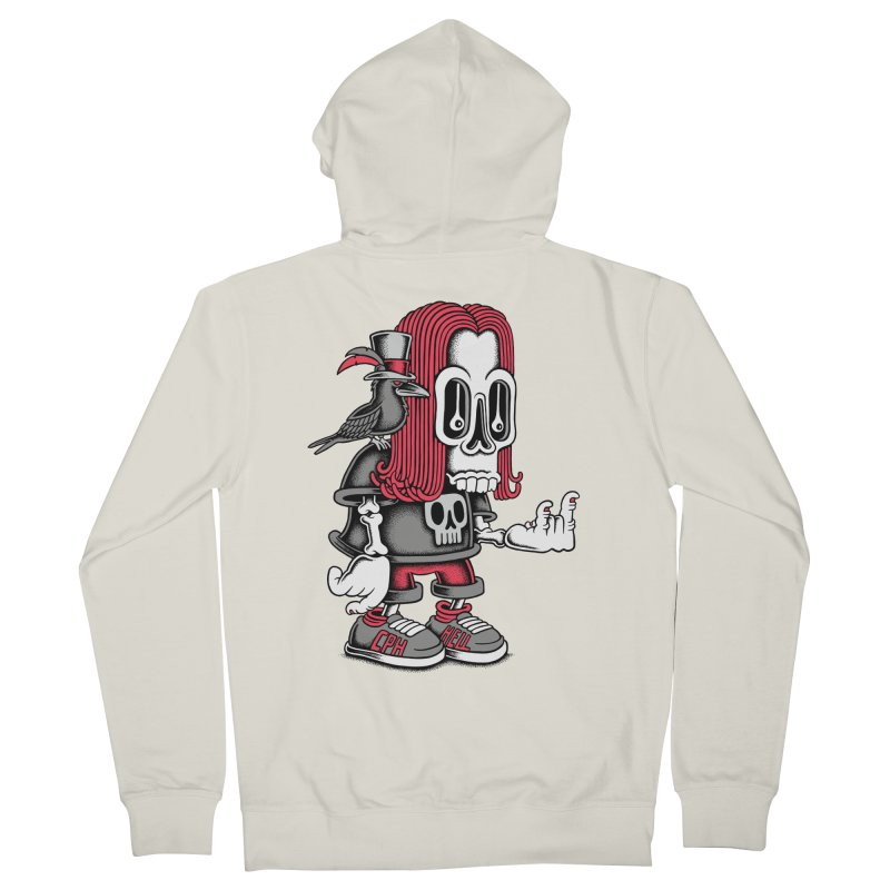 Heavy Metal Women's Zip-Up Hoody by cphposter's Artist Shop