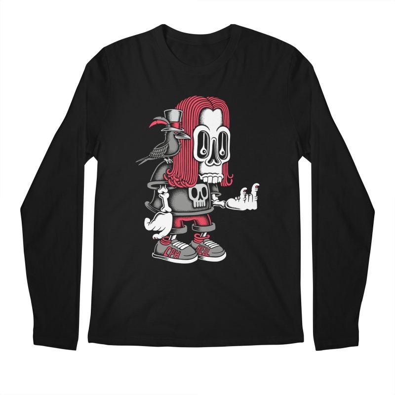Heavy Metal Men's Longsleeve T-Shirt by cphposter's Artist Shop