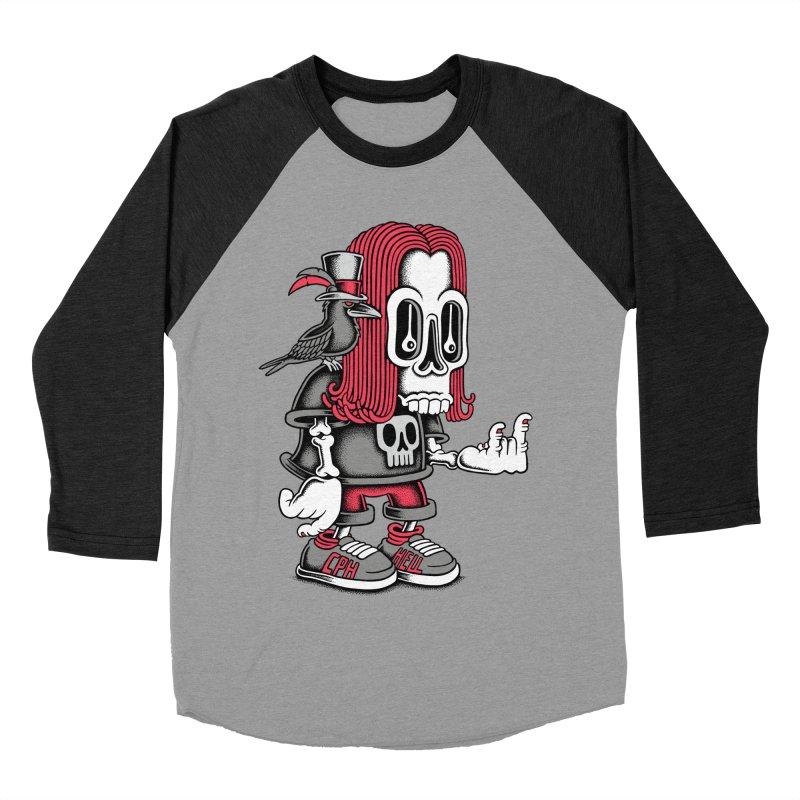 Heavy Metal Men's Baseball Triblend T-Shirt by cphposter's Artist Shop