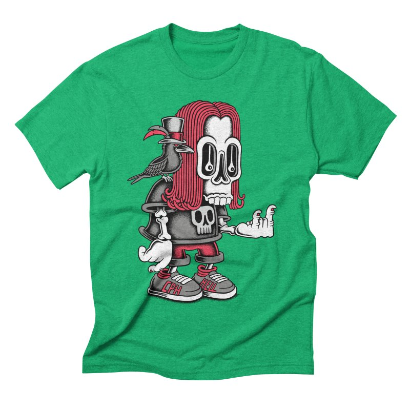 Heavy Metal Men's Triblend T-shirt by cphposter's Artist Shop