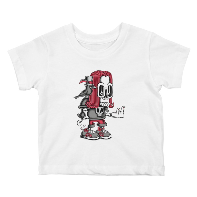 Heavy Metal Kids Baby T-Shirt by cphposter's Artist Shop