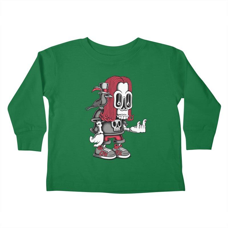 Heavy Metal Kids Toddler Longsleeve T-Shirt by cphposter's Artist Shop