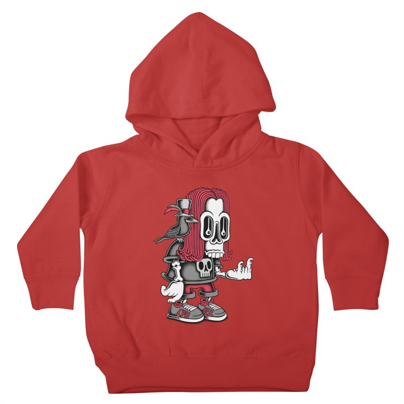 Heavy Metal Kids Toddler Pullover Hoody by cphposter's Artist Shop