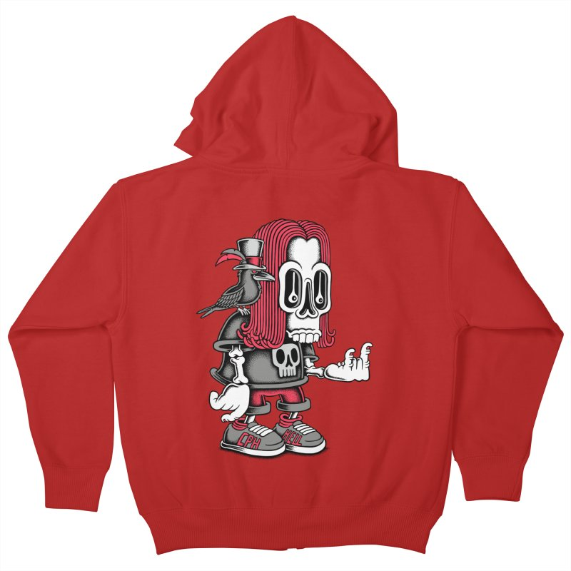Heavy Metal Kids Zip-Up Hoody by cphposter's Artist Shop