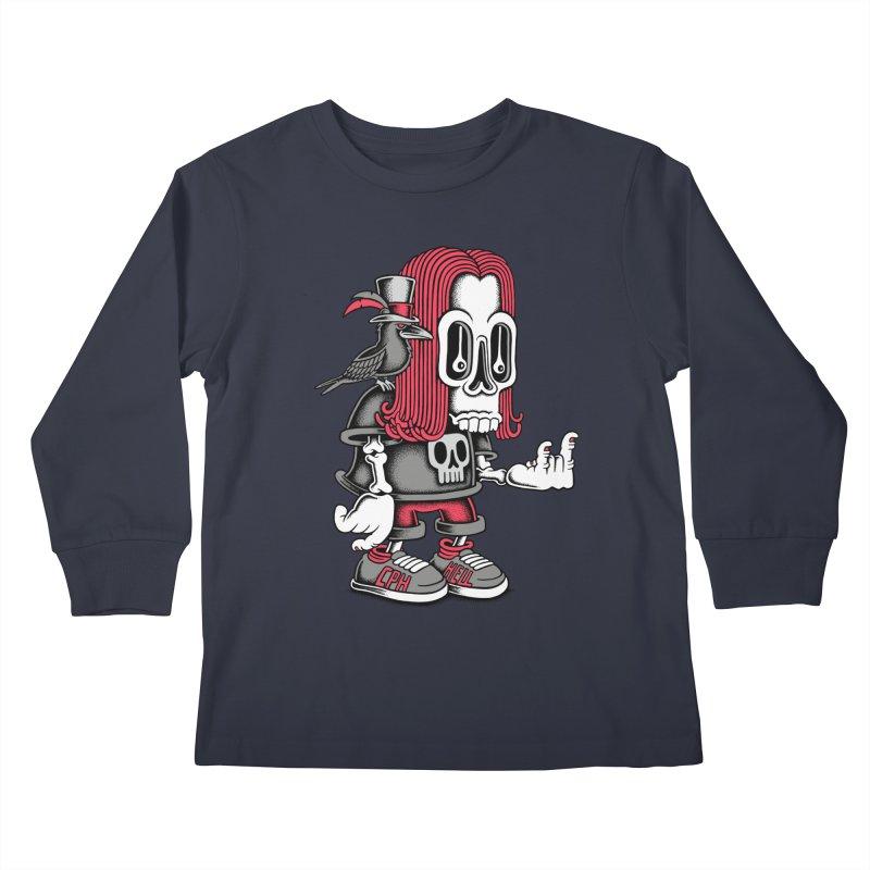 Heavy Metal Kids Longsleeve T-Shirt by cphposter's Artist Shop