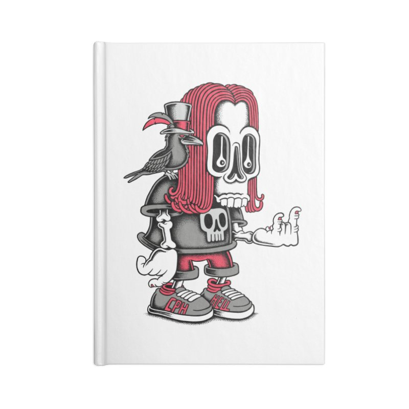 Heavy Metal Accessories Notebook by cphposter's Artist Shop
