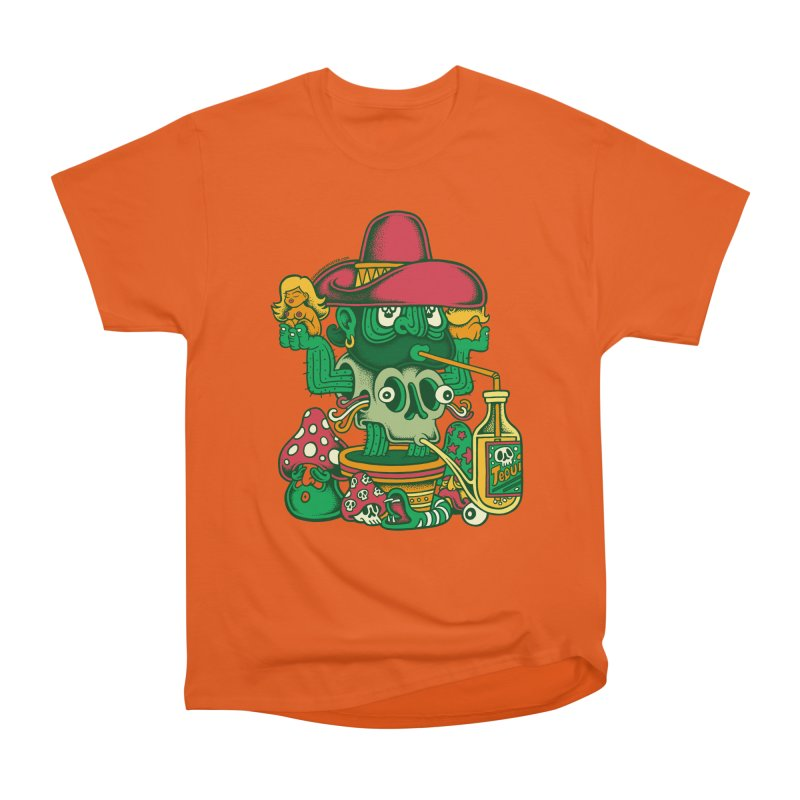 Mr. Cactus Men's Heavyweight T-Shirt by cphposter's Artist Shop