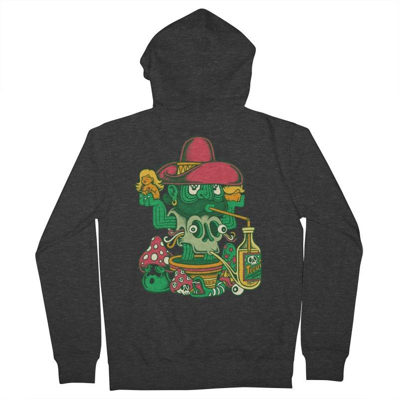 Mr. Cactus Men's Zip-Up Hoody by cphposter's Artist Shop