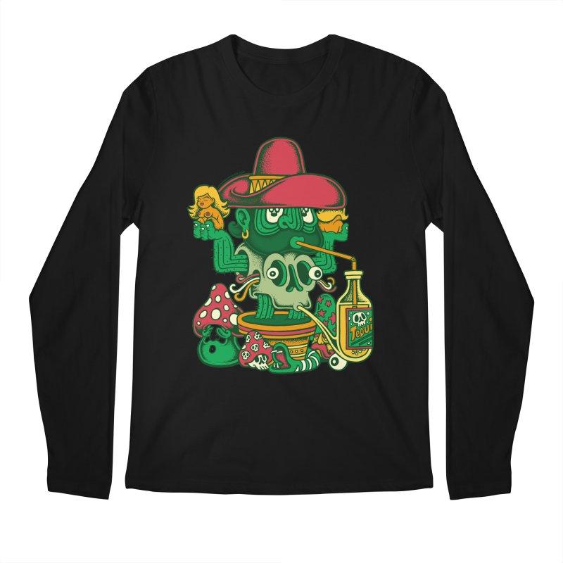 Mr. Cactus Men's Longsleeve T-Shirt by cphposter's Artist Shop