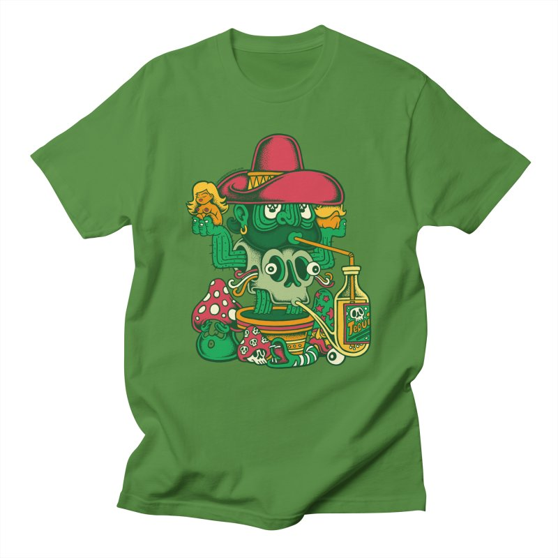 Mr. Cactus Women's Unisex T-Shirt by cphposter's Artist Shop