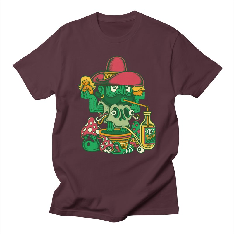 Mr. Cactus Men's T-shirt by cphposter's Artist Shop