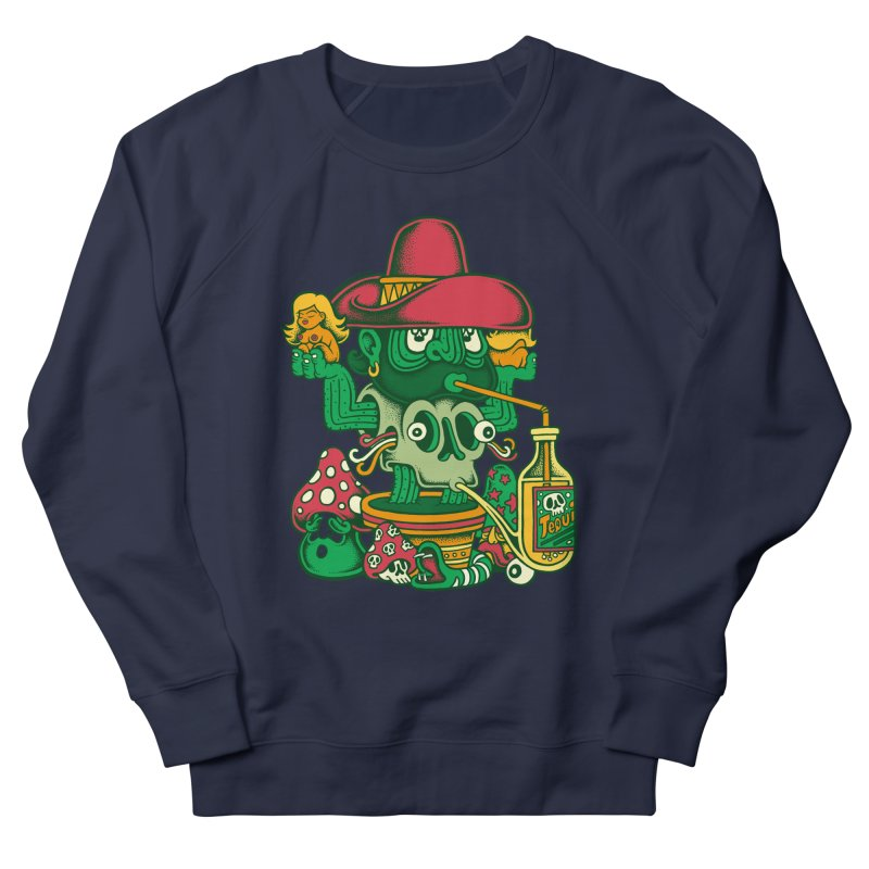 Mr. Cactus Men's Sweatshirt by cphposter's Artist Shop