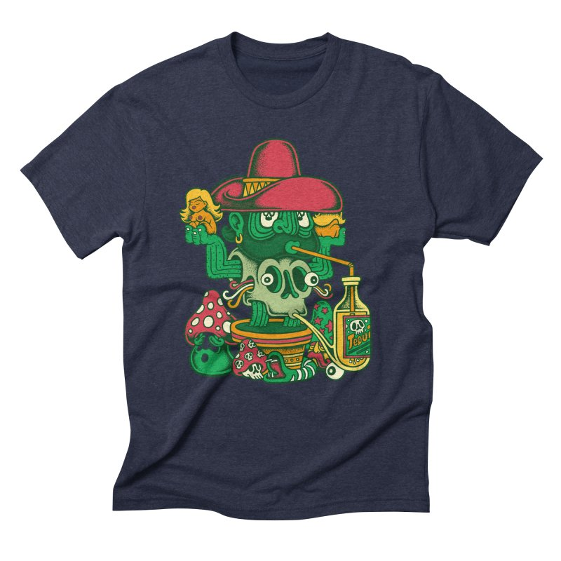 Mr. Cactus Men's Triblend T-Shirt by cphposter's Artist Shop