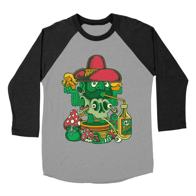 Mr. Cactus Women's Baseball Triblend T-Shirt by cphposter's Artist Shop