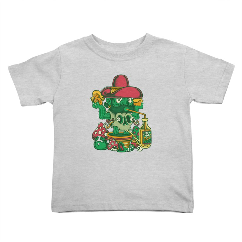 Mr. Cactus Kids Toddler T-Shirt by cphposter's Artist Shop