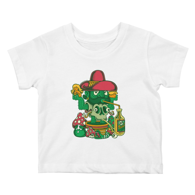 Mr. Cactus Kids Baby T-Shirt by cphposter's Artist Shop