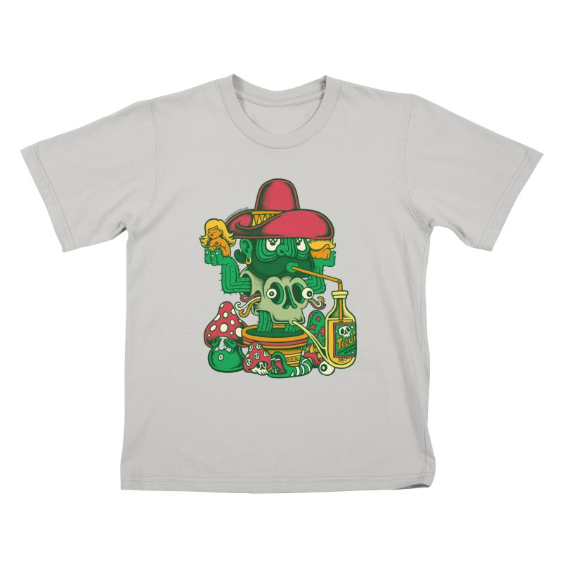 Mr. Cactus Kids T-Shirt by cphposter's Artist Shop