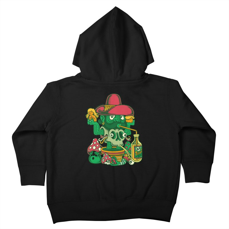 Mr. Cactus Kids Toddler Zip-Up Hoody by cphposter's Artist Shop