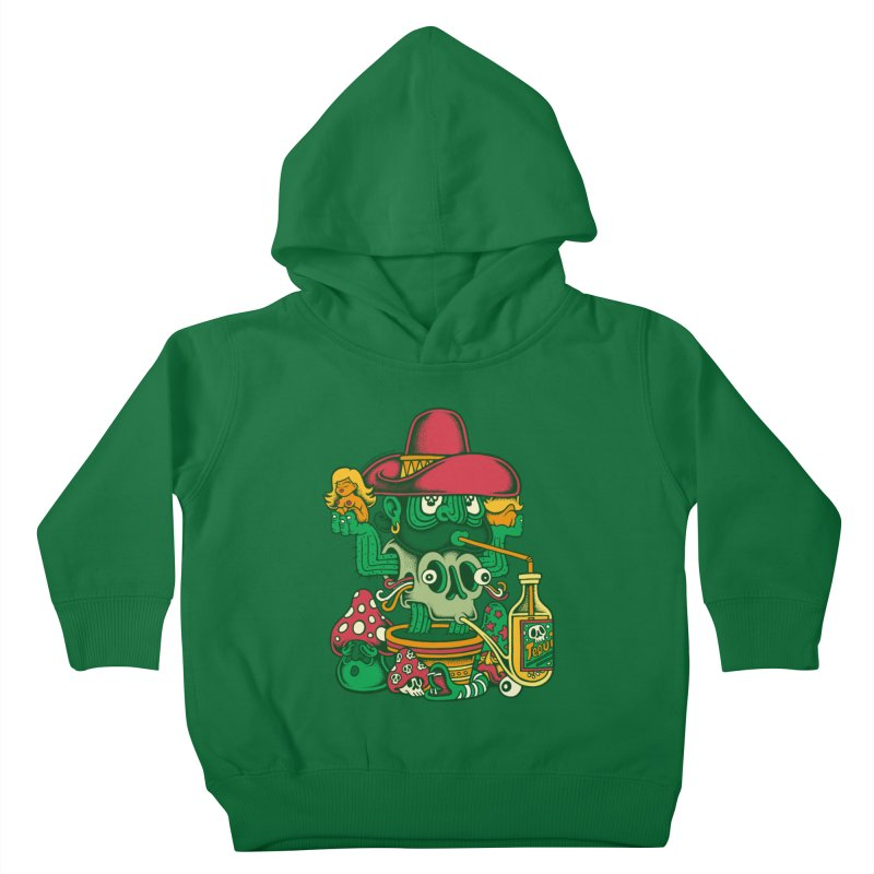 Mr. Cactus Kids Toddler Pullover Hoody by cphposter's Artist Shop