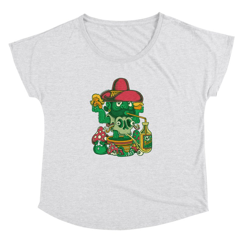 Mr. Cactus Women's Dolman by cphposter's Artist Shop