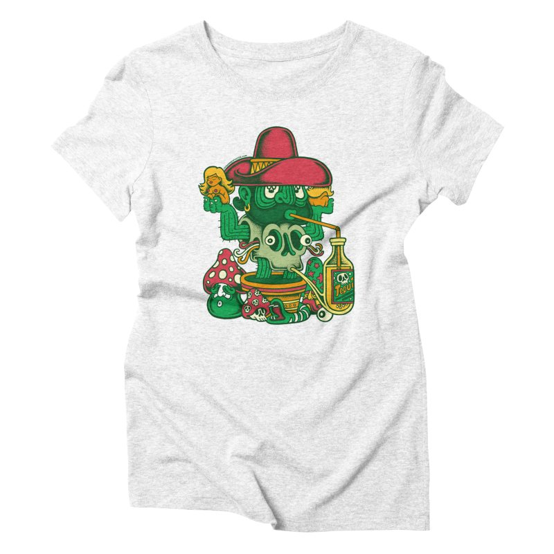 Mr. Cactus Women's Triblend T-shirt by cphposter's Artist Shop