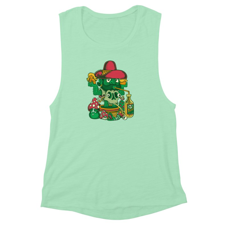 Mr. Cactus Women's Muscle Tank by cphposter's Artist Shop