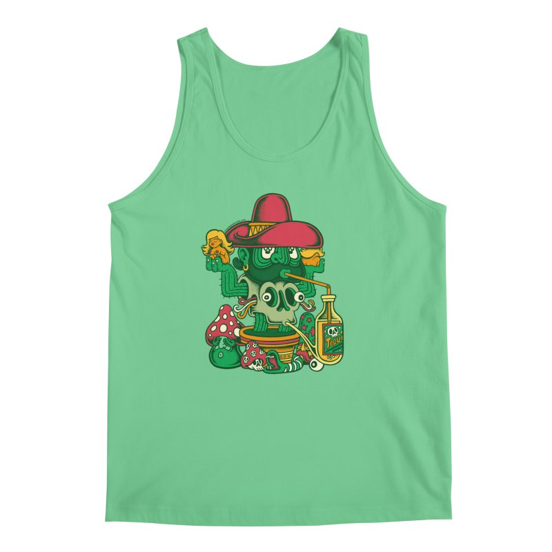 Mr. Cactus Men's Tank by cphposter's Artist Shop