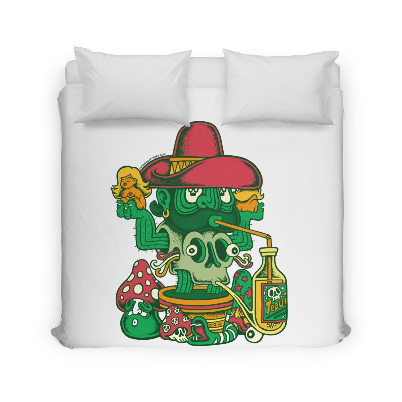 Mr. Cactus Home Duvet by cphposter's Artist Shop